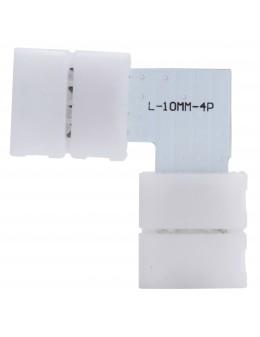 2 UDS. CONECTOR L TIRA LED 5050 RGB