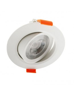 DOWNLIGHT 7W COB ORIENTABLE