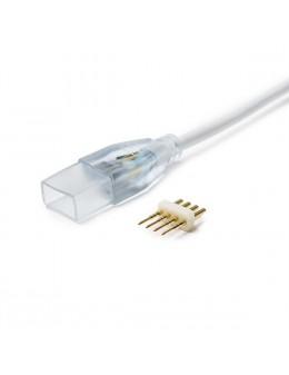 CONECTOR CABLE TIRA 220V. RGB