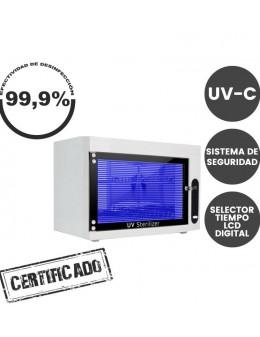 Caja Desinfección Ultravioleta C 10W Programable