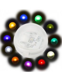 12Uds. PERLA LED FLOTANTE 2cm