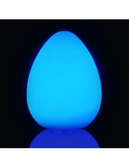 HUEVO LED 30CM RGB