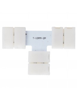 "2 UDS. CONECTOR ""T"" TIRA LED 5050 BLANCA"