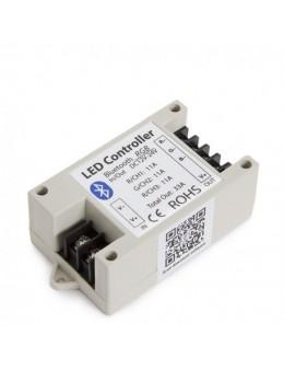 CONTROLADOR BLUETOOTH SMARTPHONE RGB 12-24V.