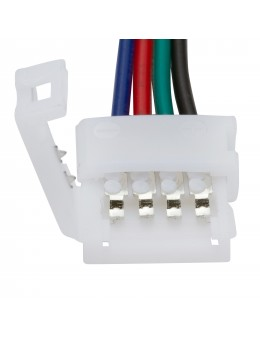 CONECTOR TIRA LED RGB +CABLE