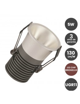 DOWNLIGHT SPOT 5W BRIDGELUX PERLA