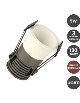 DOWNLIGHT SPOT 5W BRIDGELUX BLANCO