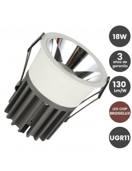 DOWNLIGHT SPOT 18W BRIDGELUX