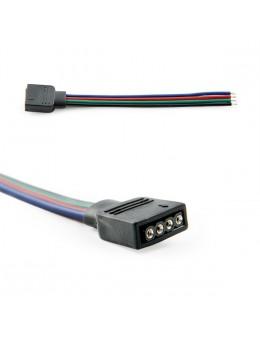 2 UDS. CONECTOR PIN HEMBRA TIRA LED RGB