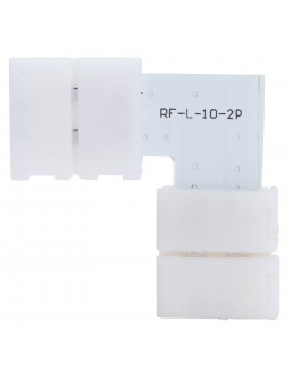 2 UDS. CONECTOR L TIRA LED 5050 BLANCA