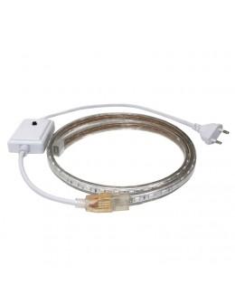 TIRA LED 220V. 4,8W/M POR METROS