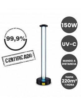 Lámpara Desinfección Ultravioleta UV-C 150m2 150W