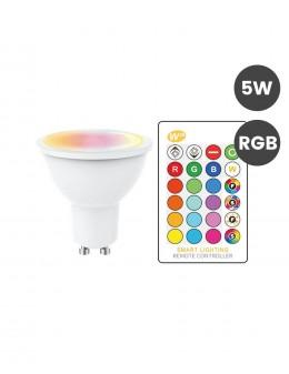 GU10 5W RGB+MANDO
