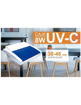 Caja Desinfección Ultravioleta 8W